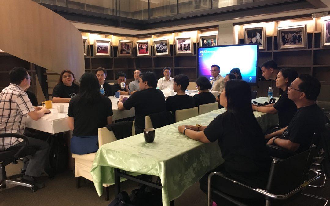 菲律賓馬尼拉地區大學教師團參訪本校亞馬遜雲計算學院