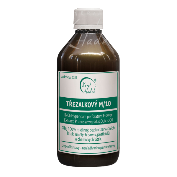 Натуральное Зверобойное масло M10 от Ароматерапия Карел Хадек купить на ya-ga.ru