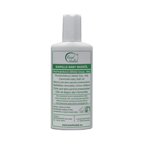 Гидрофильное детское масло для ванны Ромашковое от Ароматерапия Карел Хадек
