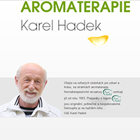 Косметика Ароматерапия Карел Хадек. Интервью с паном Хадеком.