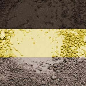 """Набор минеральных теней для век """"Гавана"""" купить на ya-ga.ru"""