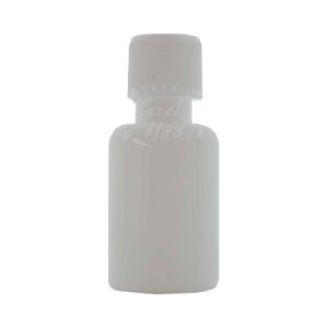 Бутылочка из белого пластика 20 мл с крышкой дозатором на ya-ga.ru