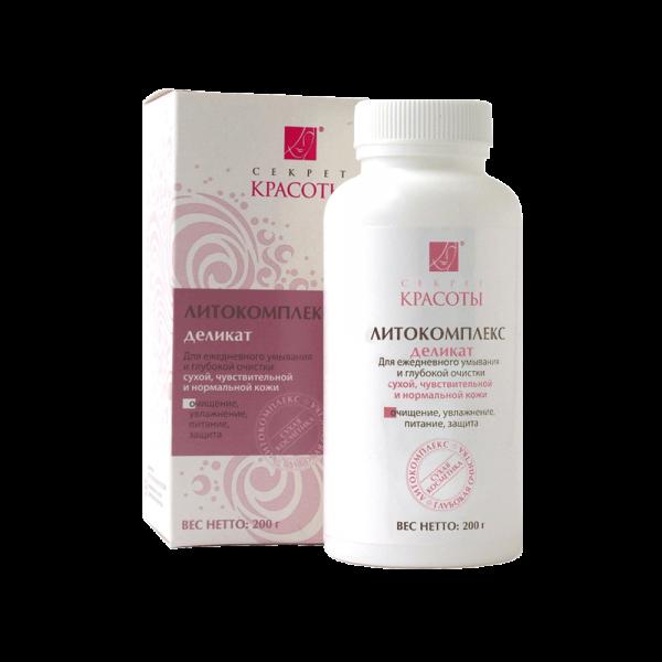 Литокомплекс для очищения сухой и чувствительной кожи «Деликат»