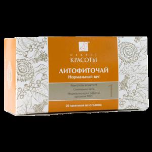 Литофиточай Нормальный вес линии «Секрет Красоты» купить на ya-ga.ru