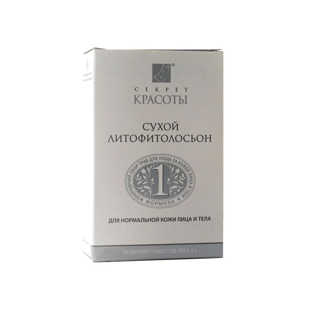 Литофитолосьон для нормальной кожи лица и тела Сухая косметика купить на ya-ga.ru