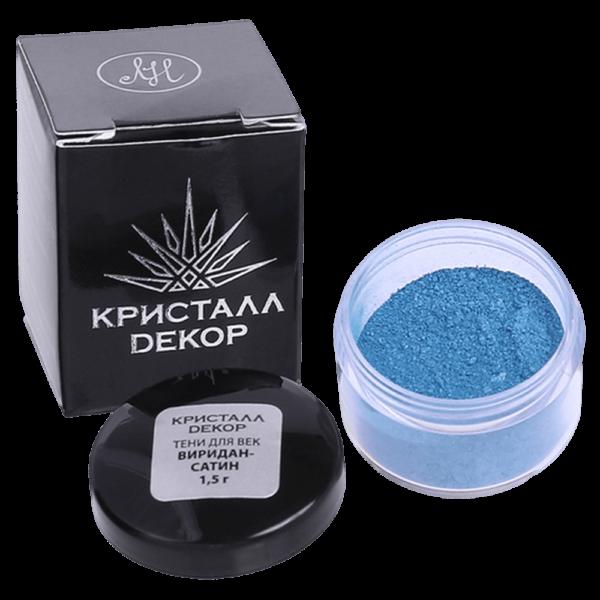 Минеральные тени для век оттенок «Виридан-сатин» купить на ya-ga.ru