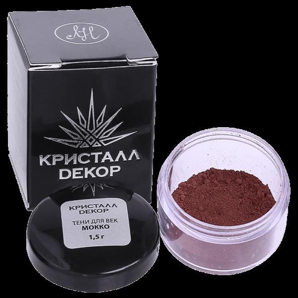 Минеральные тени для век оттенок «Мокко» купить на ya-ga.ru