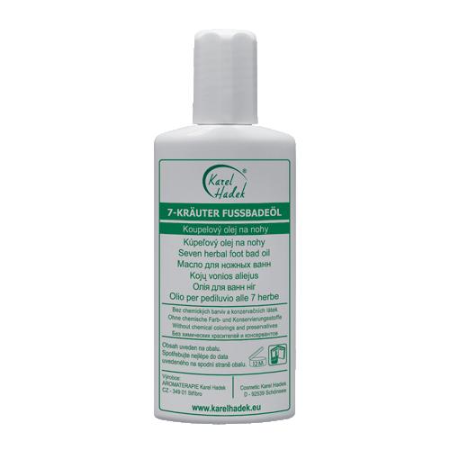 Натуральное масло для ножных ванн с эфирными маслами | Карел Хадек